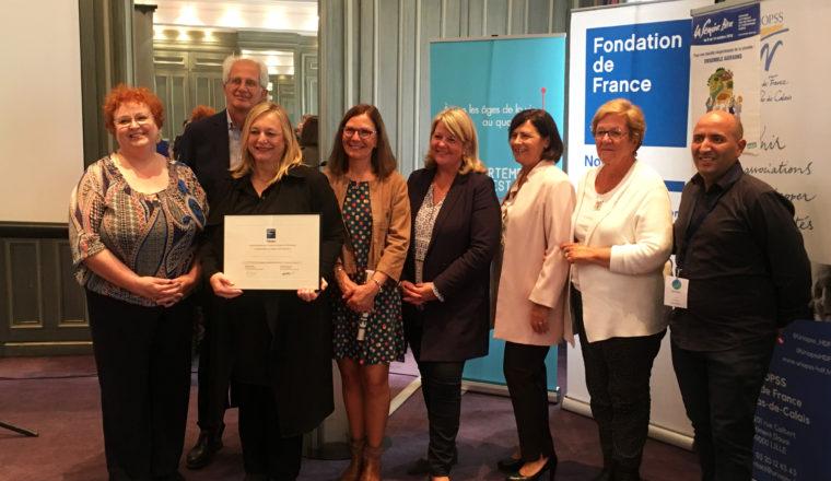 2ème prix Lauréat de la Semaine Bleue : CCAS de Mouvaux