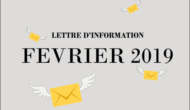 Lettre d'information – Février 2019