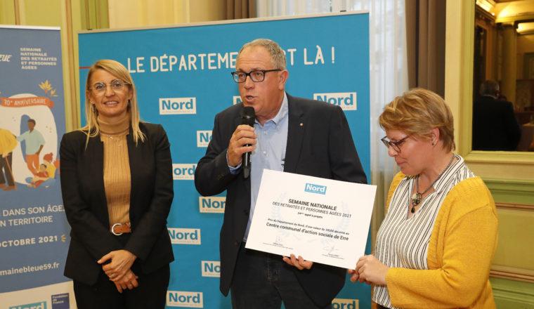 1er prix Lauréat de la Semaine Bleue : CCAS d'Erre